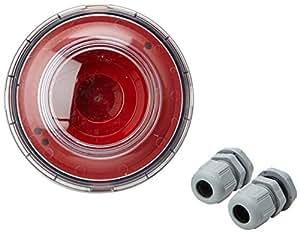 Legrand LEG40598 Diffuseur lumineux pour Alarme incendie IP65/IK07 14 à 18 mA LED Saillie