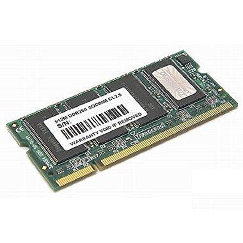 512MB Ram Laptop SODIMM Transcend TS64MSD64V6F5DDR1pc-21001RX8266MHz -