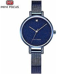 HWCOO Relojes de pulsera MINI FOCUS/reloj de mujer de moda/movimiento japonés/