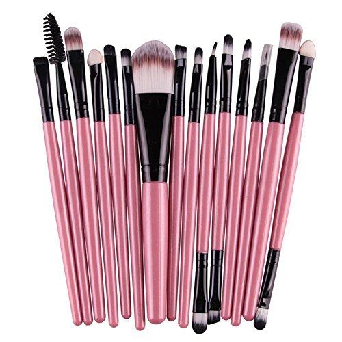 Hosaire 15PCS PincHosaire 15PCS Pinceaux Maquillage Trousse Cosmétique Brushes Set de Ensemble d'outils Brosse eaux Maquillage Trousse Cosmétique Brushes Set de Ensemble d'outils Brosse