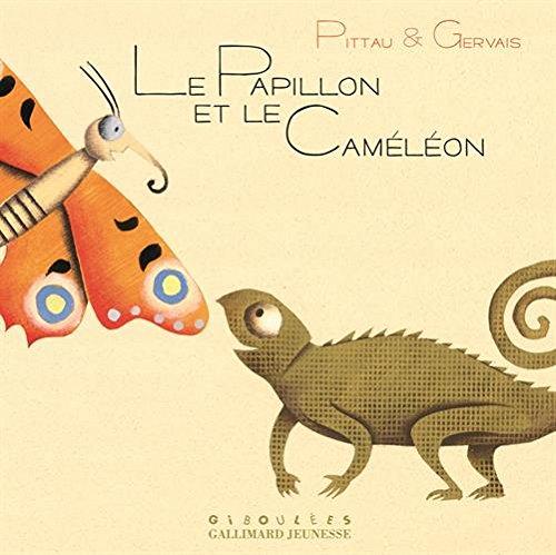 Le papillon et le caméléon