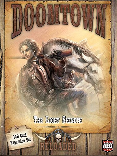 Alderac Entertainment ALD05910 - Brettspiele, Doomtown Reloaded Expansion, The Light Shineth