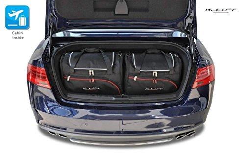 KJUST - CAR-BAGS AUTO-TASCHEN MASSTASCHEN ROLLENTASCHEN AUDI A5 CABRIO, 2007-