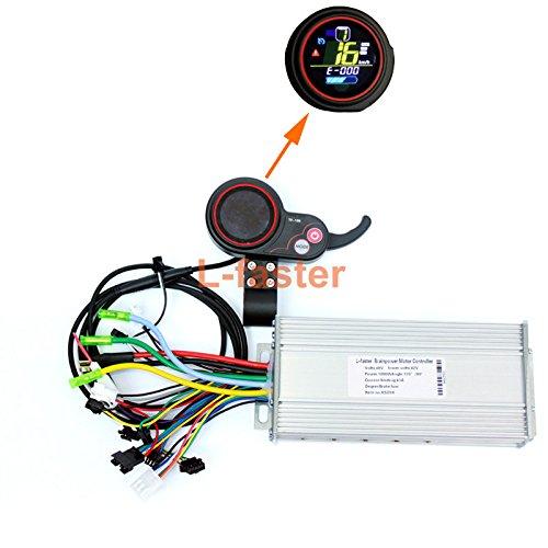 elektro - roller lcd - display mit daumen - 400w-1000welectric bürstenlose motor gas hub controller mit farb - lcd akku. (24V 500W/600W Color screen kit) (Motor 600w)