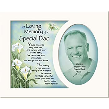 Memory Mounts Memorial In Loving Memory Of A Special Dad Mount And ...