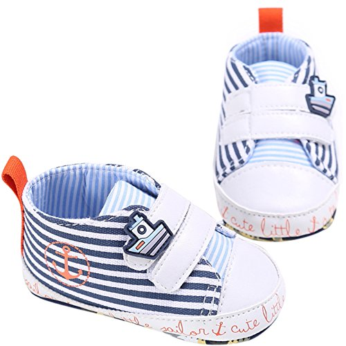 Etrack-Online  Baby Sneakers, Baby Jungen Lauflernschuhe Dunkelblau