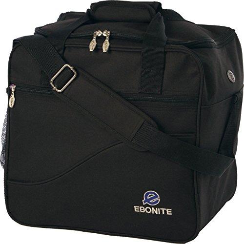 Ebonite Bowling Ball Single Tasche Bag Basic Black (Black) (Bowling Bag Für Einen Ball)