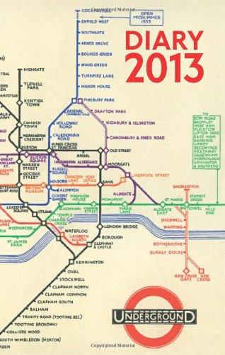 London Underground Poster Diary 2013