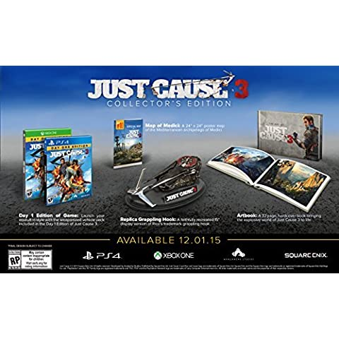 Just Cause 3 Collector's Edition - Xbox One by Square Enix