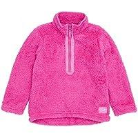 Joules Junior Merride Girls Half Zip Fleece - True Pink