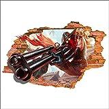 JUNMAONO 3D League of legends Wandaufkleber/Abnehmbare Wandbild Aufkleber/Wandgemälde/Wand Poster/Wandbild Aufkleber/Wandbilder/Wandtattoo/Pinupbild/Beschriftung/Pad einfügen/Tapete/Tapezieren/Tapeten/Wand Zeitung/Wandmalerei Haftnotiz/Fühlen Sie sich frei zu kleben/Instant Aufkleber/3D-Stereo-Wandaufkleber