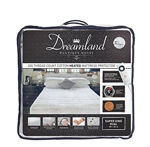 Dreamland Boutique Dual Control Electric Blanket - Superking Best Price and Cheapest