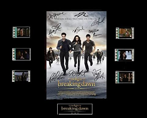 Twilight Breaking Dawn Part 2 Film Cell Presentation : Movie Poster by Everything But That