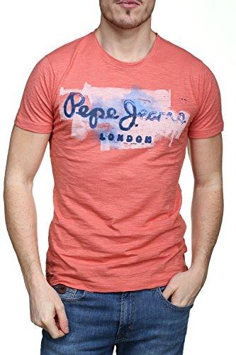 Pepe Jeans London Herren T-Shirt Golders Orange