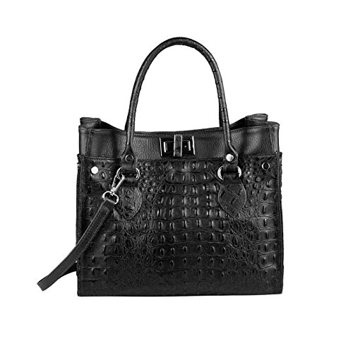OBC Only-Beautiful-Couture, Borsa a mano donna nero nero ca.: 31x26x15 cm (BxHxT) nero