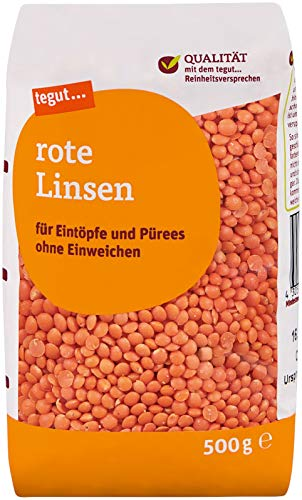 Tegut Rote Linsen, 500 g