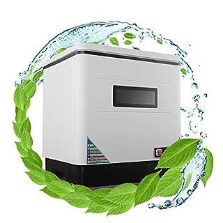 RDJM Lave-Vaisselle Compact Pose Libre /6 Couverts/Technologie Activewater/Autonome, Blanc [Classe Énergétique A+]
