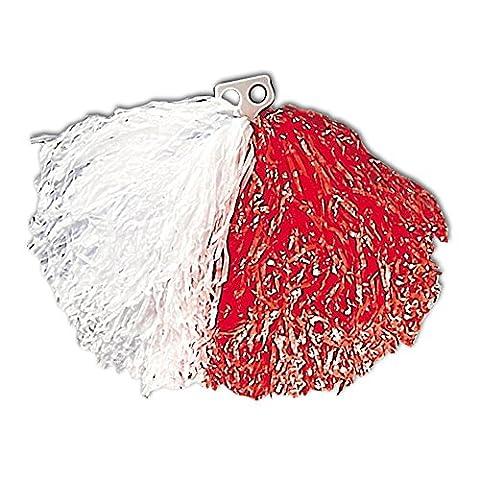 Widmann 1089F - Pom Pom, weiß / rot