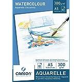 Canson Bloc 200005788 Papier aquarelle Blanc