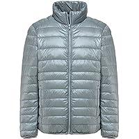 Mochoose Men's Winter Down Puffer Jacket Coat Packable Ultra Light Weight