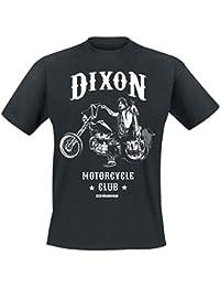 The Walking Dead Daryl Dixon MC T-shirt noir