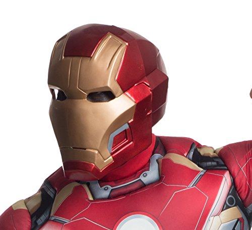 Zweiteilige Maske Iron Man Avengers: Age of Ultron Die Deluxe für Erwachsene