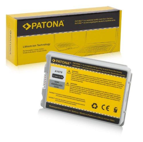 PATONA Laptop Akku für Apple PowerBook G4 15
