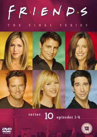 Click for larger image of Friends - Series 10 - Vol. 1 - Episodes 1-4 [DVD] [1995]