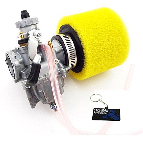 Carb 26mm Vergaser + 38mm Air Filter für 110cc 125cc Pit Dirt Bike ATV Quad ()