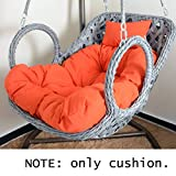 DSAQAO Tutto in Un Unico Cuscino Sedile, Cuscino di Oscillazione Sedia sospesa Reclinabile Seat Pad, L'imbottitura del Sedile Comfort Cuscino per Sedia-D