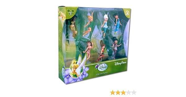 Bullyland Disney Fairies Movie Kids Toy Figures Cake Toppers Tinkerbell Iridessa