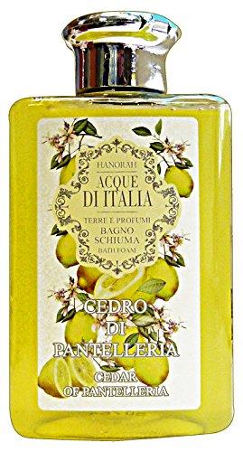 HANORAH eaux d'Italie bain cèdre de Pantelleria 300 ml. Les savons et cosmétiques