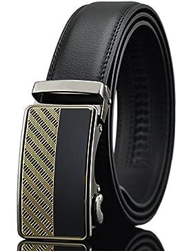 Katusi Hombre Automático Cinturón Cuero Anchura 3.5cm kts36