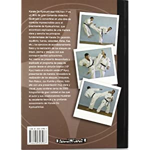 Karate Kyokushinkai. Volumen 1º. Técnica, Kata, aplicaciones y programa de grados