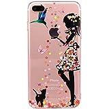"""Qissy® iPhone 7 Plus Funda,Carcasa iPhone 7 Plus Case Cover Dibujos Animados Silicona Suave Funda para Apple iPhone 7 Plus 5.5"""""""