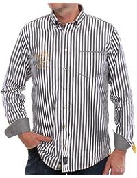 CASAMODA Herren Freizeithemd Comfort Fit, gestreift 431802500/100