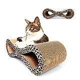 LSS Cat Scratcher Lounge, Cat Scratch Board, Gekrümmte Strahlende Form...