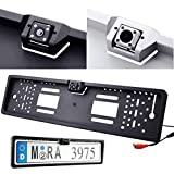 #7: EU Waterproof 170°European Car Number Plate Frame Rear View Night Vision Camera