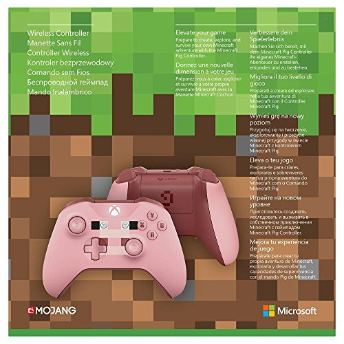 Xbox Wireless Controller Minecraft Pink Limited Edition Gameothek - Minecraft controller spielen pc