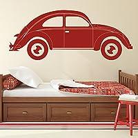 Cartoon VW Beetle Classic Vintage Car Wall