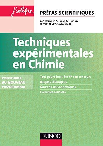 Techniques expérimentales en Chimie - 2e éd. - Conforme au nouveau programme