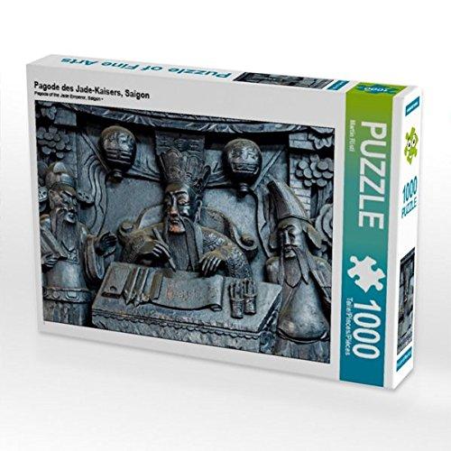 Jade-pagode (Pagode des Jade-Kaisers, Saigon 1000 Teile Puzzle quer (CALVENDO Orte))