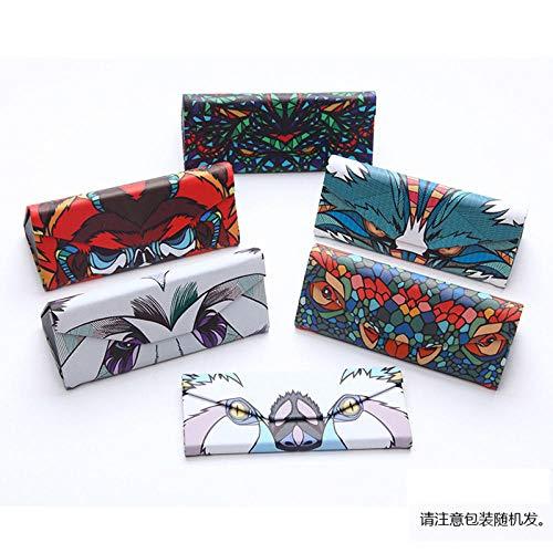 Casual Wrap Ladies SunglassesPolarized Sunglasses_Fashion Aluminium Magnesium Polarized SunglassesRandom Folding Brillenetui