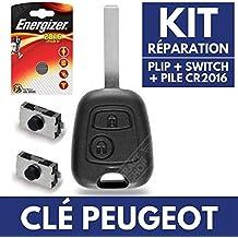 Carcasa llave Jongo caja para mando a distancia Peugeot 207 107 307 SW 407 308 ✚