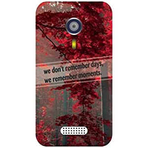 Micromax A116 Canvas HD Phone Cover - Beauty of Nature Matte Finish Phone Cover