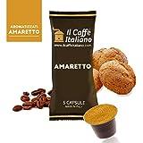 Il Caffè Italiano Café a Sabor de Maccaron Compatible con Nespresso - 50 Cápsulas