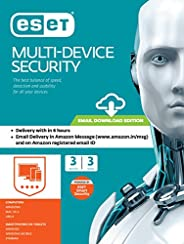 ESET Multi-Device Security - 3 Devices, 3 Yeas (Email Delivery in 2 Hours- No CD)