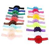 #6: 18pcs Cute Kids Girls Hair Accessories Elastic Band Flower Headband Hair