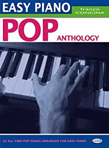 Partitions variété, pop, rock CARISCH CONCINA FRANCO - POP ANTHOLOGY - PIANO FACILE Piano
