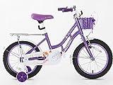 Kids de 16pulgadas para bicicleta, rueda de apoyo para las niñas con, Hi Spec, 3–6años